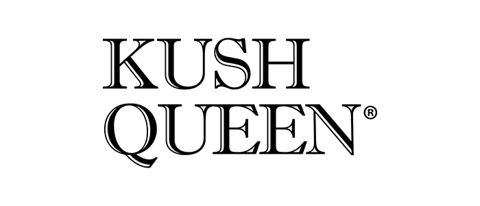 Kush Queen Logo Cannabis Brand