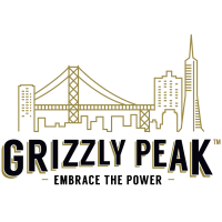 Grizzly Peak Cannabis Brand Logo